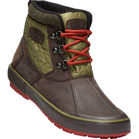 Keen Elsa II Ankle Quilted WP Shoes Women brown/olive